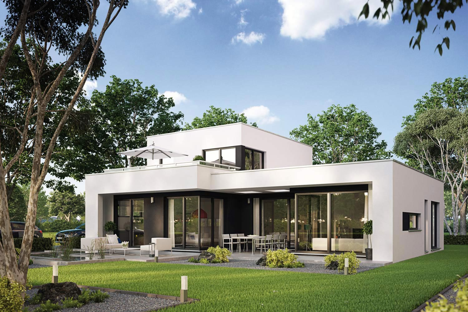 Architekten-Haus Casaretto | Fertighaus | Bungalow